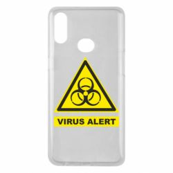 Чехол для Samsung A10s Warning Virus alers