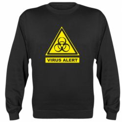 Реглан (свитшот) Warning Virus alers