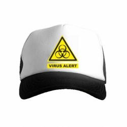 Дитяча кепка-тракер Warning Virus alers