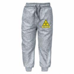 Дитячі штани Warning Virus alers