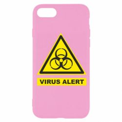 Чехол для iPhone 7 Warning Virus alers