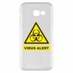 Чехол для Samsung A5 2017 Warning Virus alers