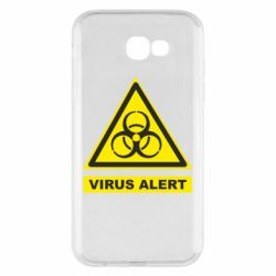 Чехол для Samsung A7 2017 Warning Virus alers