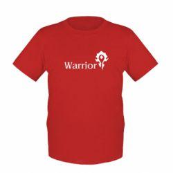 Детская футболка Warrior - FatLine