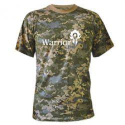Камуфляжная футболка Warrior - FatLine