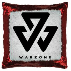 Подушка-хамелеон Warzone