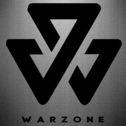 Наклейка Warzone