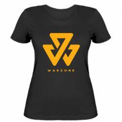 Жіноча футболка Warzone