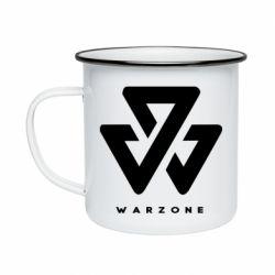 Кружка емальована Warzone