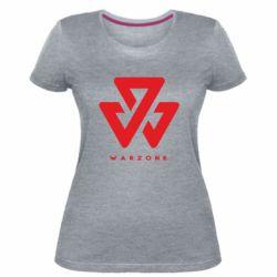 Жіноча стрейчева футболка Warzone