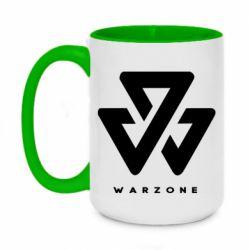 Кружка двоколірна 420ml Warzone
