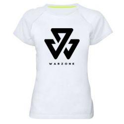 Жіноча спортивна футболка Warzone