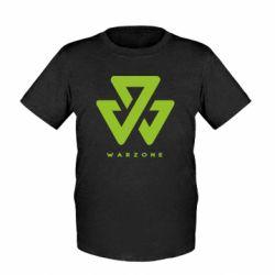 Дитяча футболка Warzone