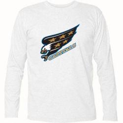 Футболка с длинным рукавом Washington Capitals Logo