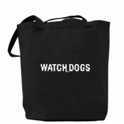 Сумка Watch_Dogs logo text