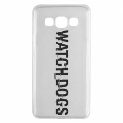Чехол для Samsung A3 2015 Watch Dogs text