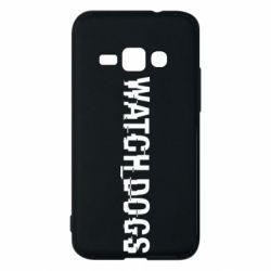 Чехол для Samsung J1 2016 Watch Dogs text