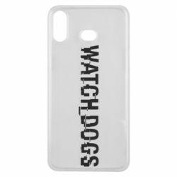 Чехол для Samsung A6s Watch Dogs text