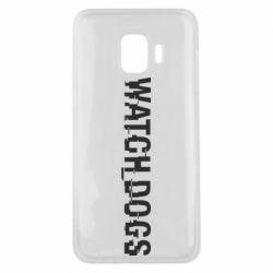 Чехол для Samsung J2 Core Watch Dogs text