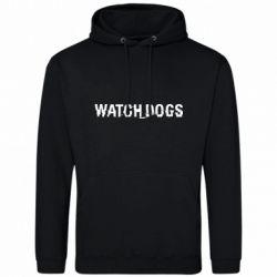 Мужская толстовка Watch Dogs text