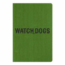 Блокнот А5 Watch Dogs text