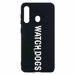 Чехол для Samsung M40 Watch Dogs text