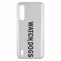 Чехол для Xiaomi Mi9 Lite Watch Dogs text