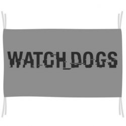 Флаг Watch Dogs text
