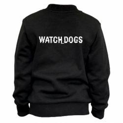 Детский бомбер Watch Dogs text