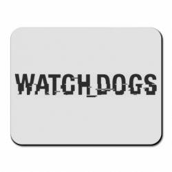 Коврик для мыши Watch Dogs text