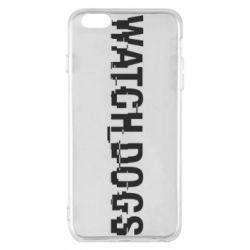 Чехол для iPhone 6 Plus/6S Plus Watch Dogs text