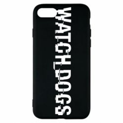 Чехол для iPhone 7 Watch Dogs text