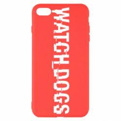 Чехол для iPhone 7 Plus Watch Dogs text