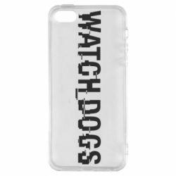 Чехол для iPhone5/5S/SE Watch Dogs text