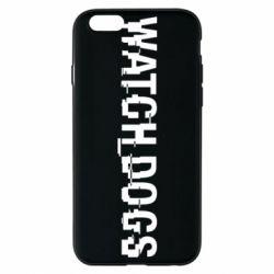 Чехол для iPhone 6/6S Watch Dogs text