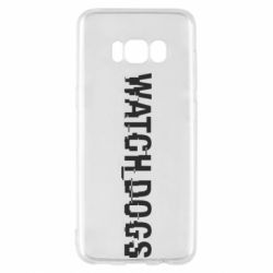 Чехол для Samsung S8 Watch Dogs text