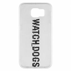 Чехол для Samsung S6 Watch Dogs text