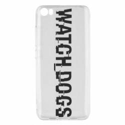 Чехол для Xiaomi Mi5/Mi5 Pro Watch Dogs text