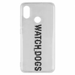Чехол для Xiaomi Mi8 Watch Dogs text