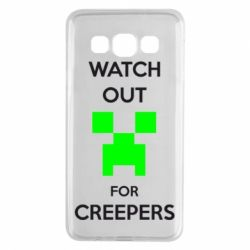 Чехол для Samsung A3 2015 Watch Out For Creepers