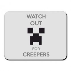 Коврик для мыши Watch Out For Creepers - FatLine