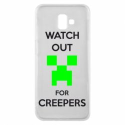 Чехол для Samsung J6 Plus 2018 Watch Out For Creepers