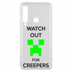 Чехол для Samsung A9 2018 Watch Out For Creepers