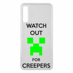 Чехол для Samsung A7 2018 Watch Out For Creepers