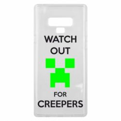 Чохол для Samsung Note 9 Watch Out For Creepers