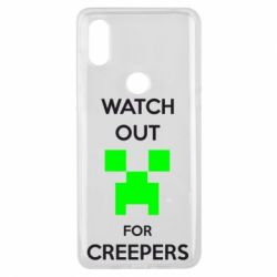Чехол для Xiaomi Mi Mix 3 Watch Out For Creepers