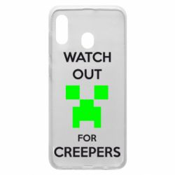 Чехол для Samsung A20 Watch Out For Creepers