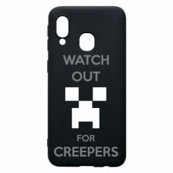 Чехол для Samsung A40 Watch Out For Creepers