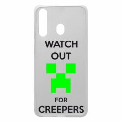 Чехол для Samsung A60 Watch Out For Creepers