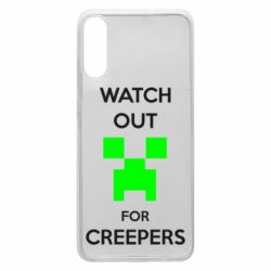 Чехол для Samsung A70 Watch Out For Creepers